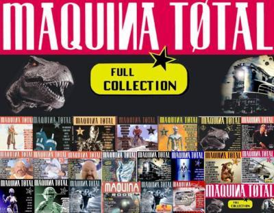 Máquina Total Radio Edit - 15 Megamixes                                       (1994-2005 Edicion Especial)