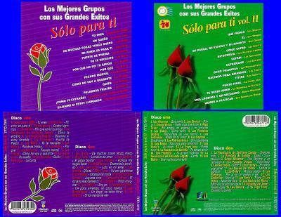 Los Mejores Grupos - Solo Para Ti (4CD's)