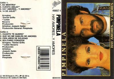 Pimpinela - Hay Amores... Y Amores (1990)