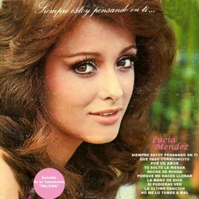 Lucia Mendez - Siempre Estoy Pensando En Ti (1975)