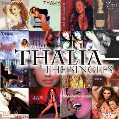 Thalia: The Singles (2008)