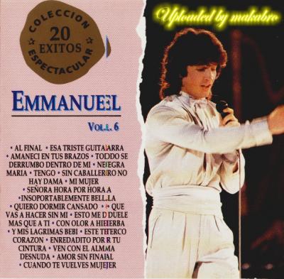 Emmanuel - Emmanuel Vol.6 (Grandes Exitos) (1993)