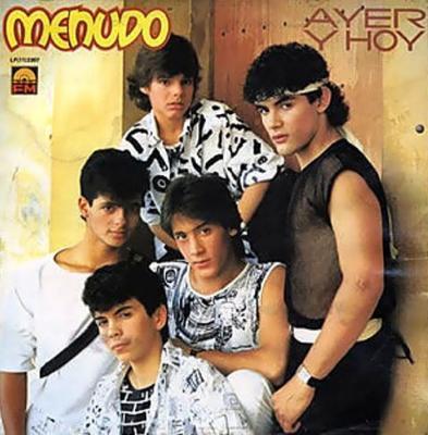 Menudo - Ayer Y Hoy (1985) (CD Original)