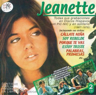 Jeanette - Todas Sus Grabaciones En Hispavox (1967-1976) (2001) 2CD's