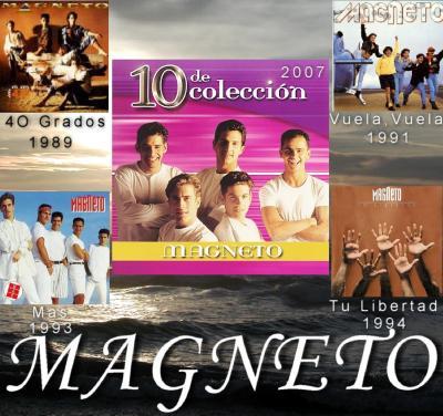 Magneto - 5CD's De Coleccion 1989-2007