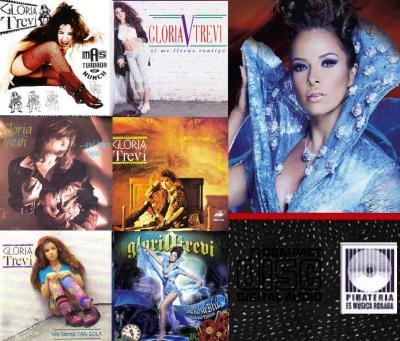 Gloria Trevi - Varios Discos De Coleccion (Gracias Jesus Omar Rosales Canales Por Compartir Tu Musica)