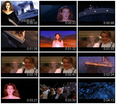 Celine Dion - My Heart Will Go On (Love Theme From ''Titanic'') (Clean Vob)