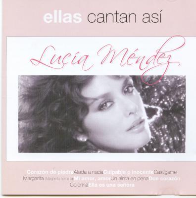 Lucia Mendez - Ellas Cantan Asi (2003)
