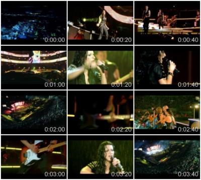 Laura Pausini - Y Mi Banda Toca El Rock (San Siro 2007) (Clean Vob)