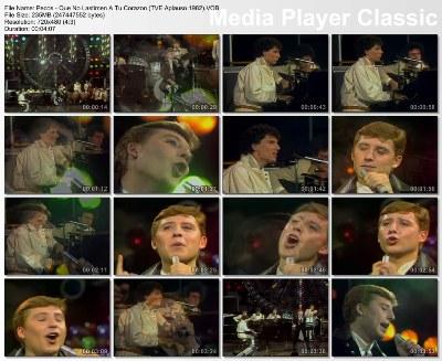 Pecos - Que No Lastimen A Tu Corazon (TVE Aplauso 1982) (Clean Vob)
