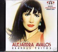 ALEJANDRA AVALOS Grandes Exitos CD 2004 + REMIX rare